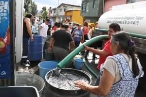 Patrullas de la CDMX custodiarán pipas de agua durante megacorte