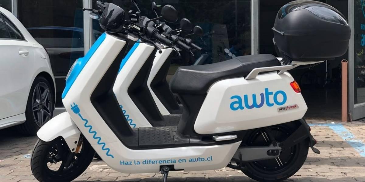 Llegan las motos eléctricas al servicio compartido de Awto