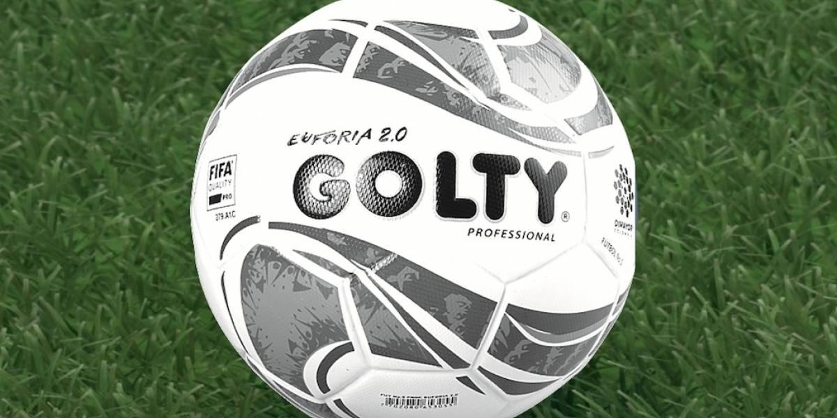 Nuevo balón Golty del fútbol colombiano para el año 2019 (Golty ... 4416738aa8974