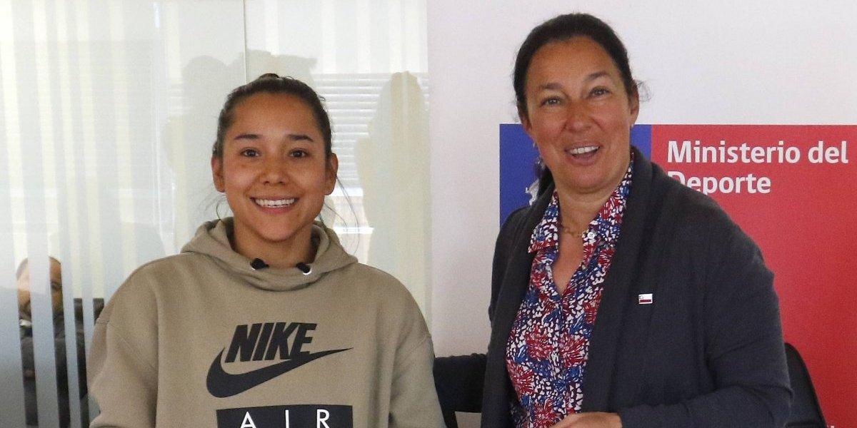 El Ministerio del Deporte acogió la apelación de la gimnasta Makarena Pinto y mantendrá la beca Proddar
