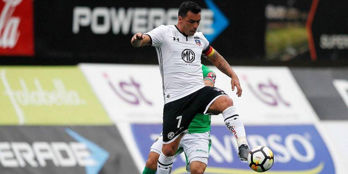 """Esteban Paredes descarta problemas dentro de Colo Colo: """"El camarín está unido, no hay rencores"""""""