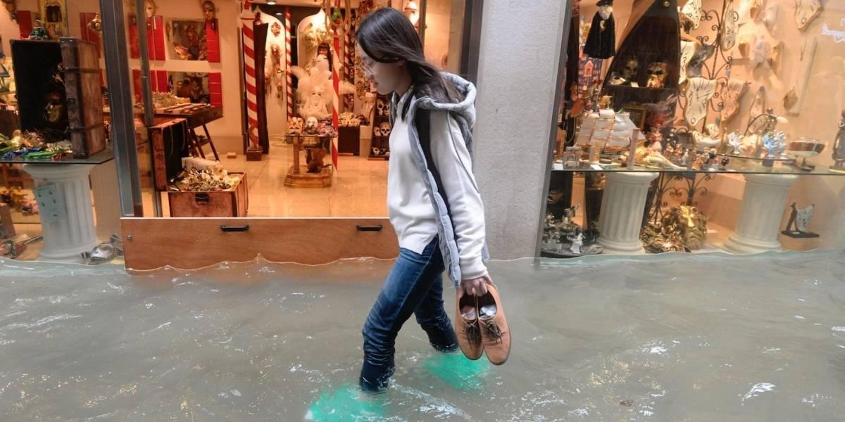 Mueren 4 personas tras inundaciones atípicas en Venecia