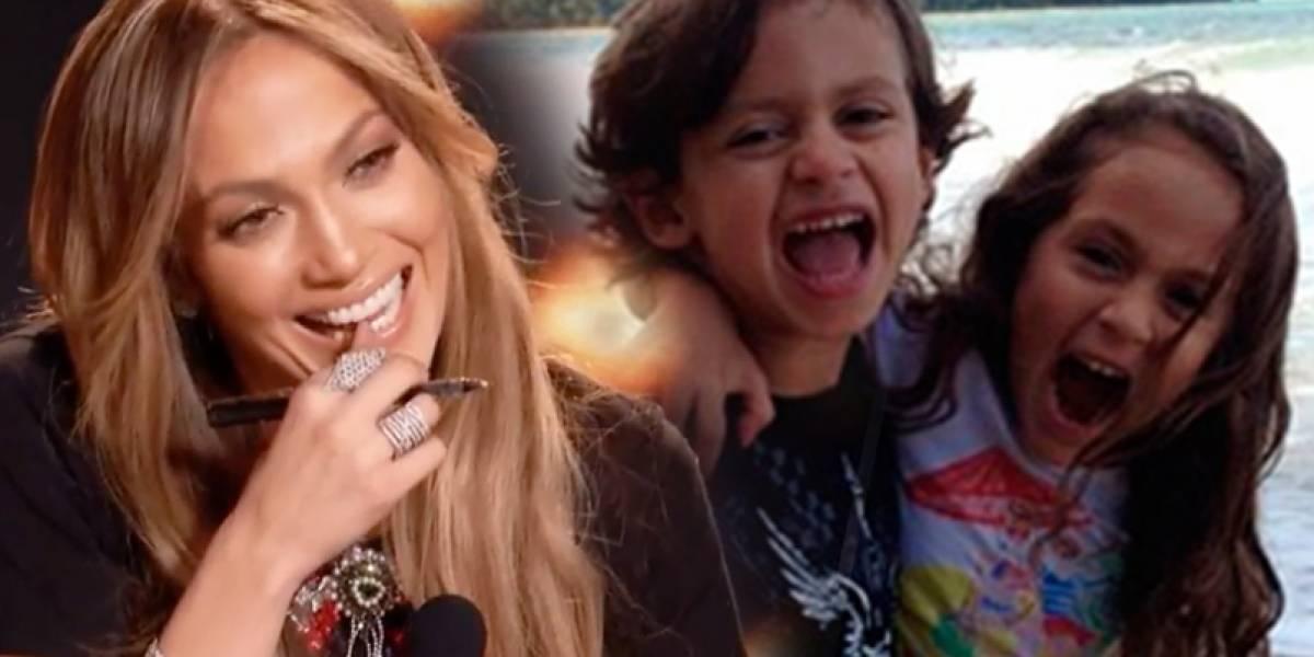 Las fotos que demuestran lo mucho que han crecido los gemelos de Jennifer Lopez y Marc Anthony