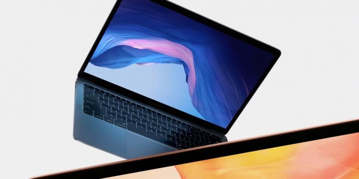 """MacBook Air se renueva siendo el """"más verde jamás creado"""""""