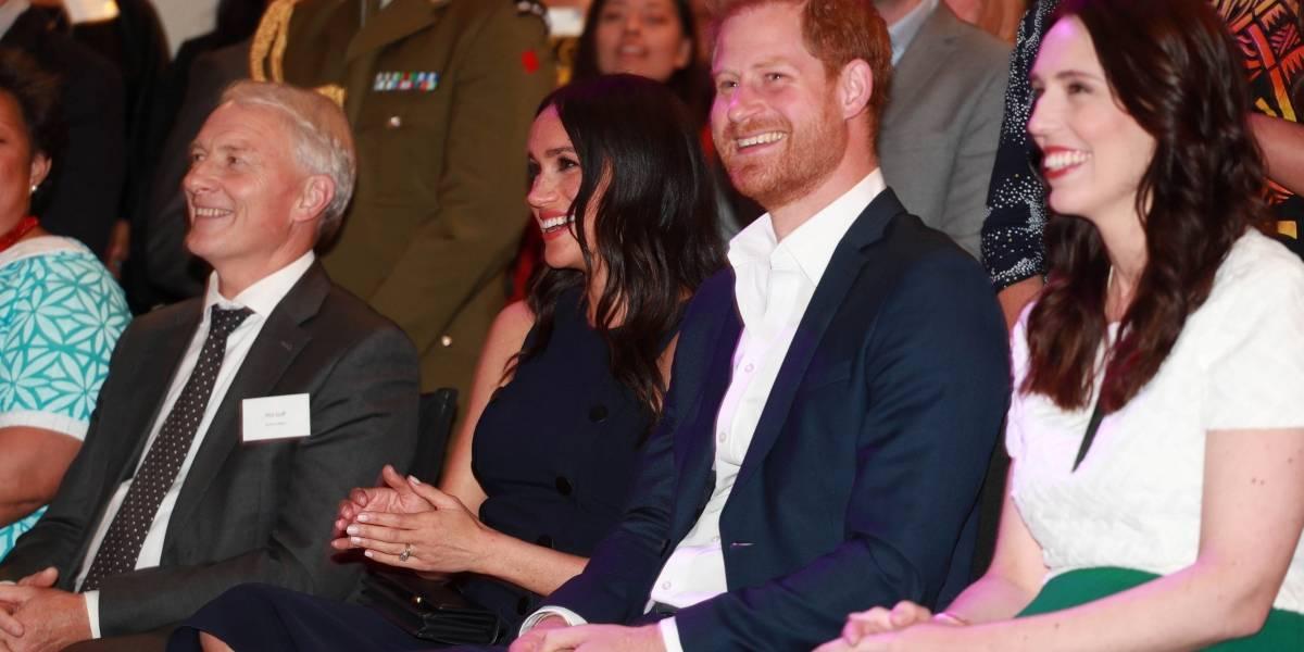 Príncipe Harry e Meghan se assustam com terremoto na Nova Zelândia
