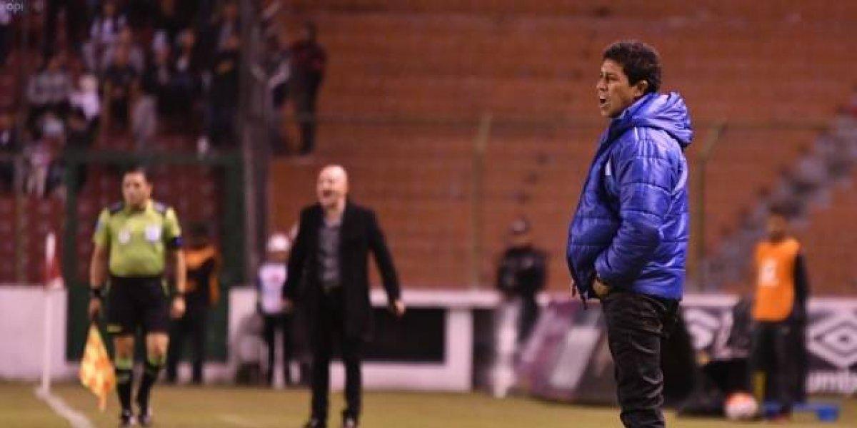 Emelec pide sanción máxima a Paúl Vélez, técnico de Macará