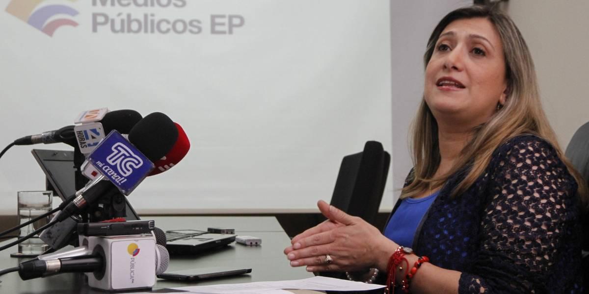 Gerenta de Medios Públicos presentó denuncia sobre presunta intimidación