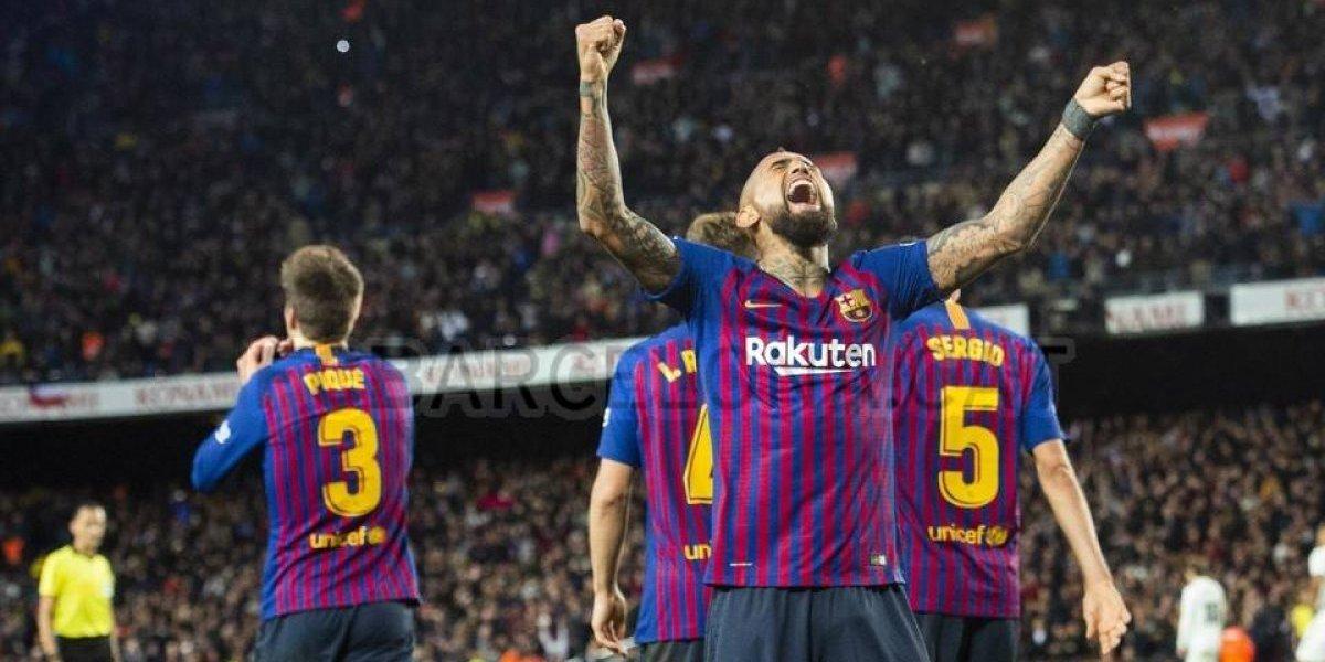 Arturo Vidal eligió a sus cuatro leyendas favoritas del fútbol