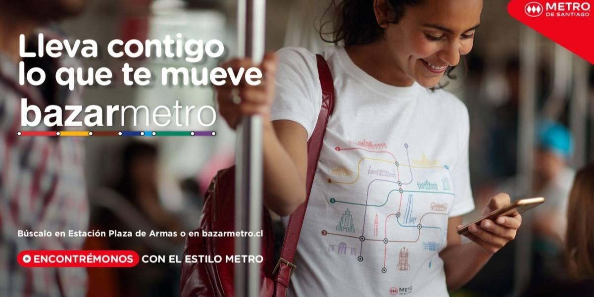 Metro de Santiago ahora tiene su merchandising propio
