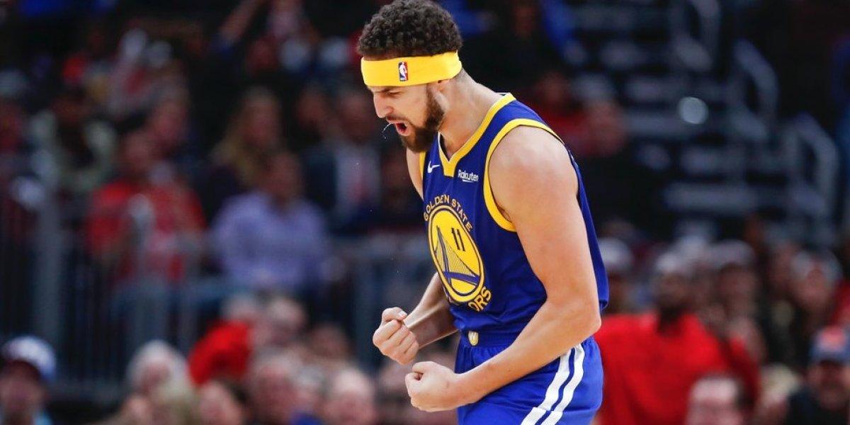 Noche histórica en la NBA: Klay Thompson le metió 14 triples a los Bulls en la victoria de Golden State Warriors