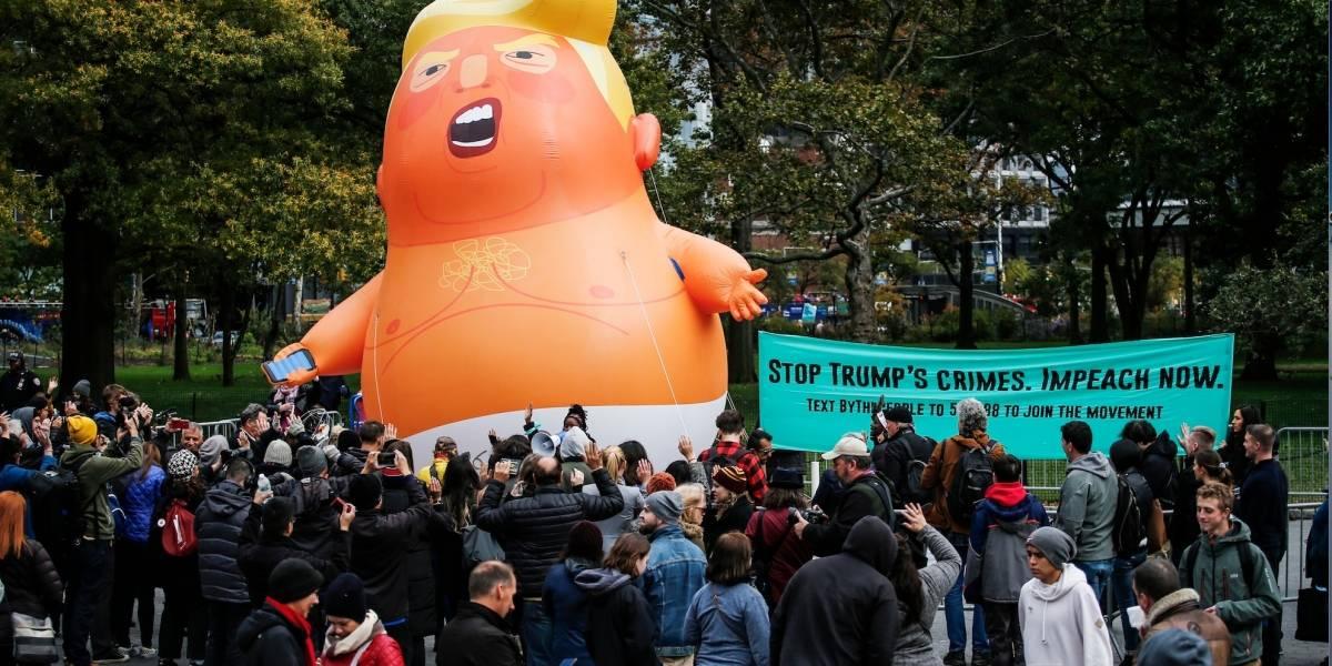 Baby Trump vuela en Nueva York