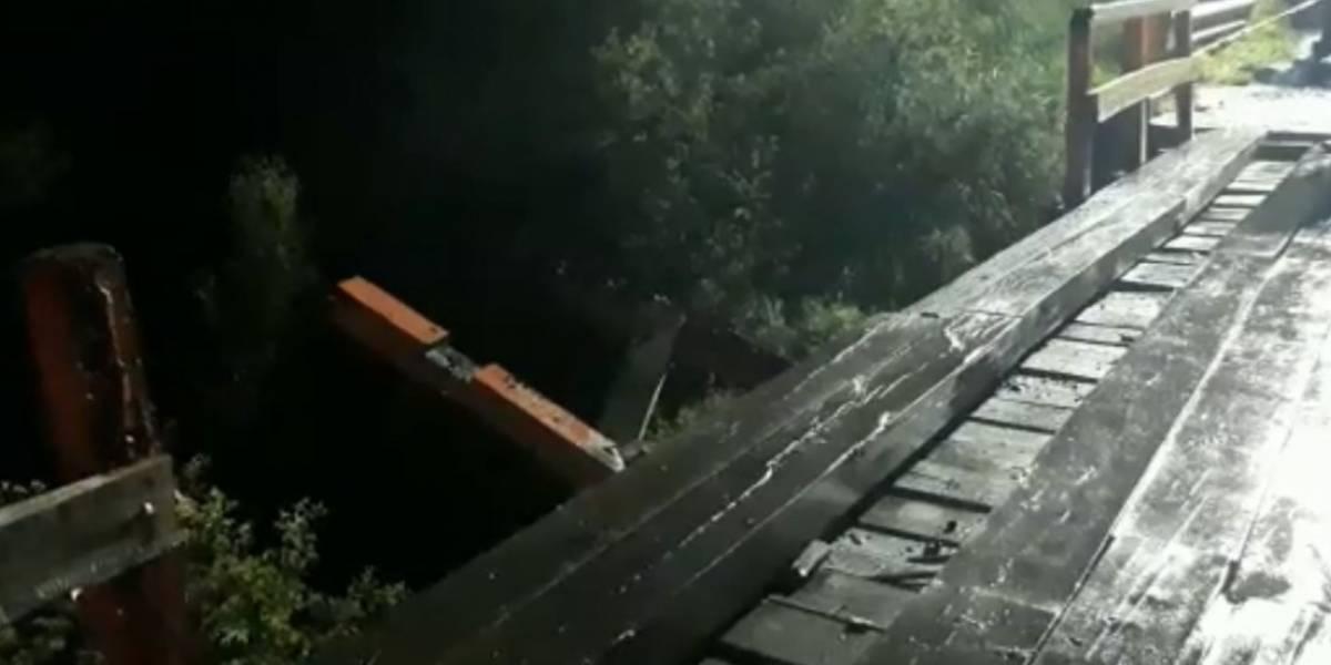 Automóvil cae sobre río desde 10 metros de altura en Cañete: accidente deja dos muertos, dos heridos graves y un desaparecido