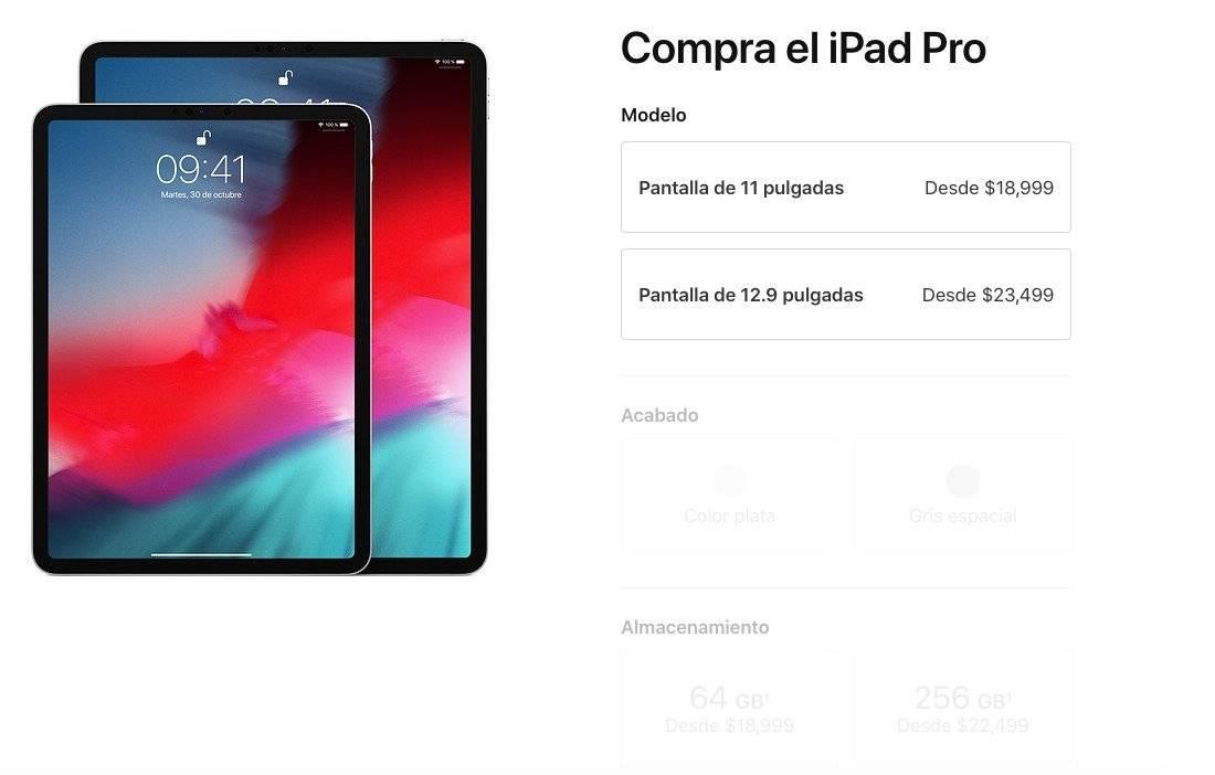Precios iPad Pro Foto: Apple
