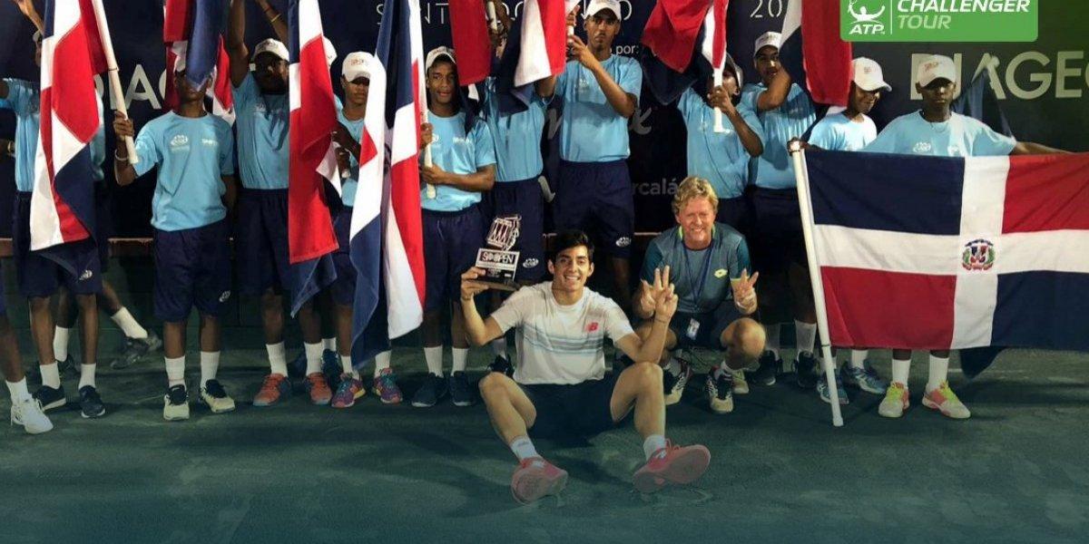 """Andrés Schneiter, el """"Rey Midas"""" del tenis que lidera el despegue de Christian Garín en el ATP Tour"""