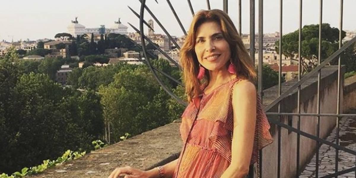 Le detectan nuevo tumor a la actriz Lorena Meritano
