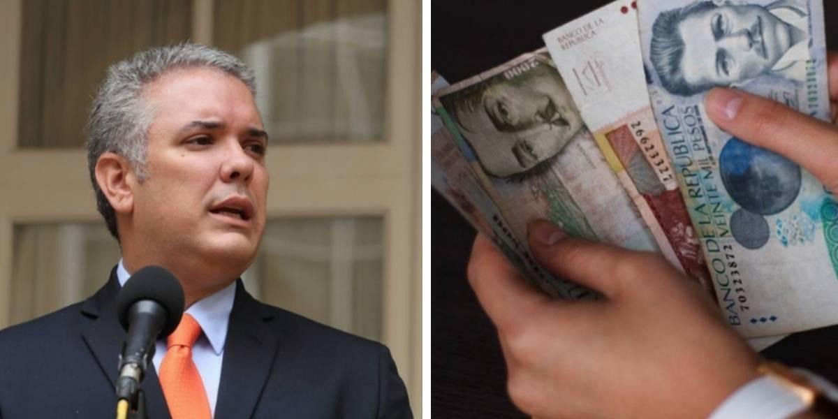 Duque endeudará a Colombia para terminar de pagar el presupuesto del otro año