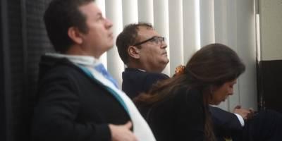 """""""Rey del Tenis"""" y magistrado Eddy Orellana en audiencia del caso Comisiones Paralelas"""