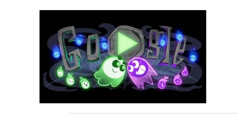 Doodle de Halloween 2018 Foto: Google