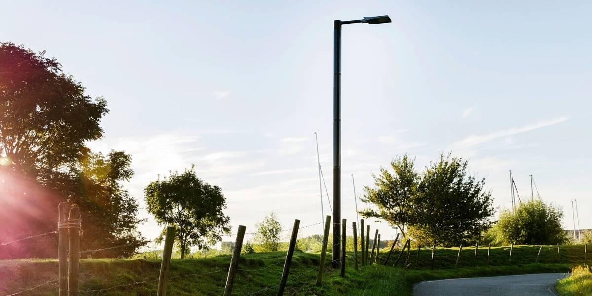 ¿Se imagina un poste de luz que además de iluminación entregue buena conectividad móvil?