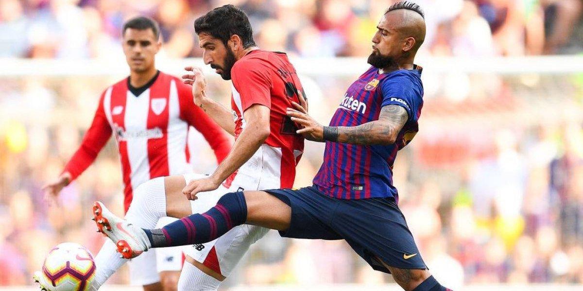 Vidal lidera citación llena de suplentes y canteranos del Barça para el debut en la Copa del Rey