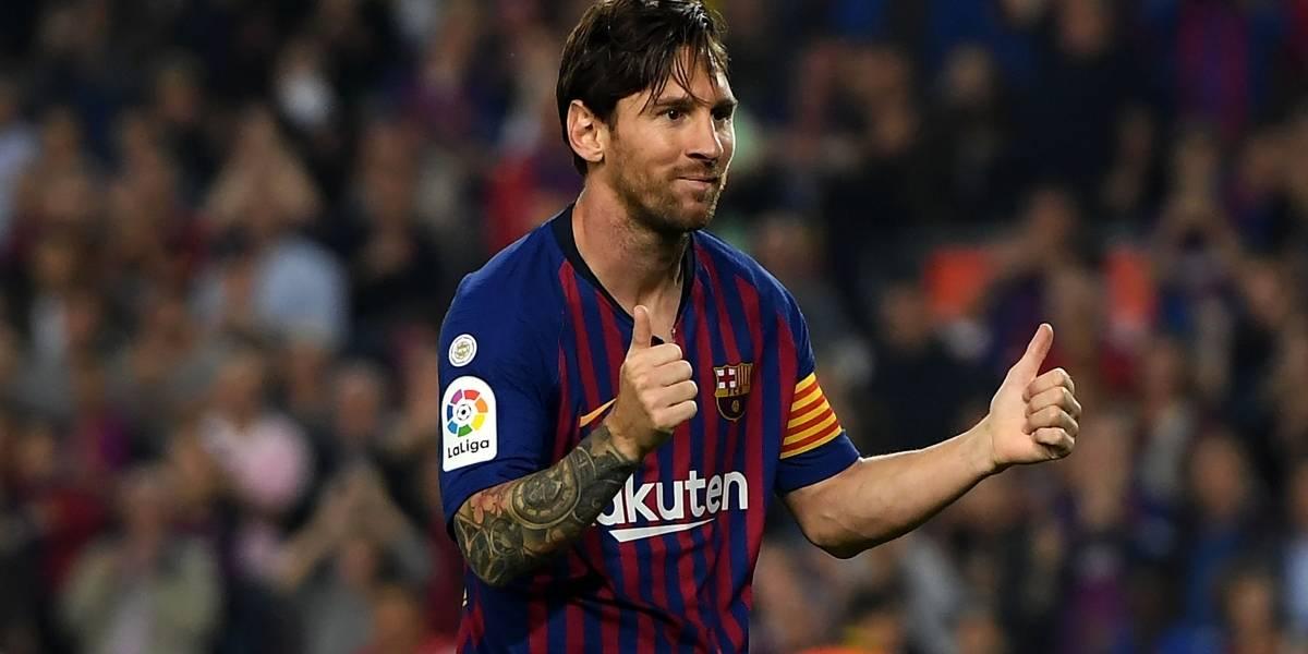 Liga de España piensa en crear un trofeo Messi