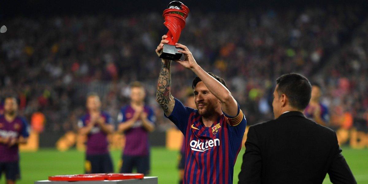 """""""Trofeo Messi"""", la idea que surgió en España para premiar al mejor jugador de la temporada"""