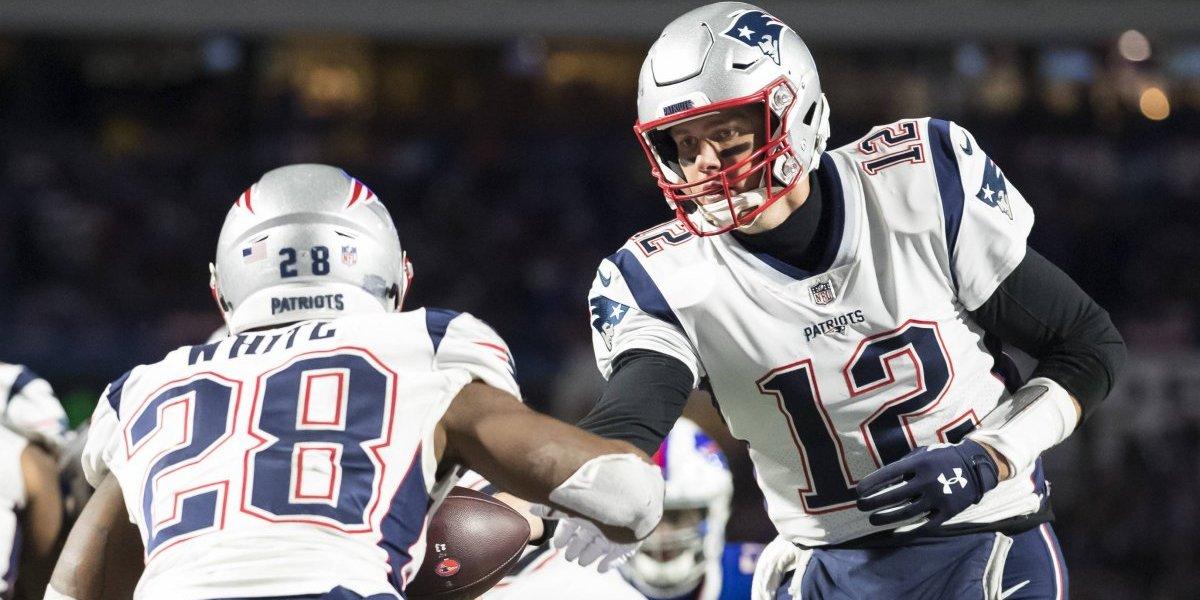 Patriots arrasa con los Bills y consigue quinto triunfo consecutivo