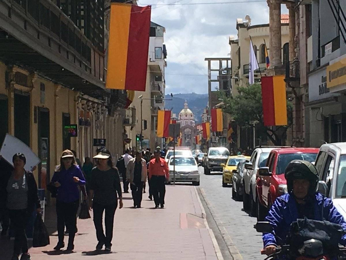 Embanderamiento de Cuenca