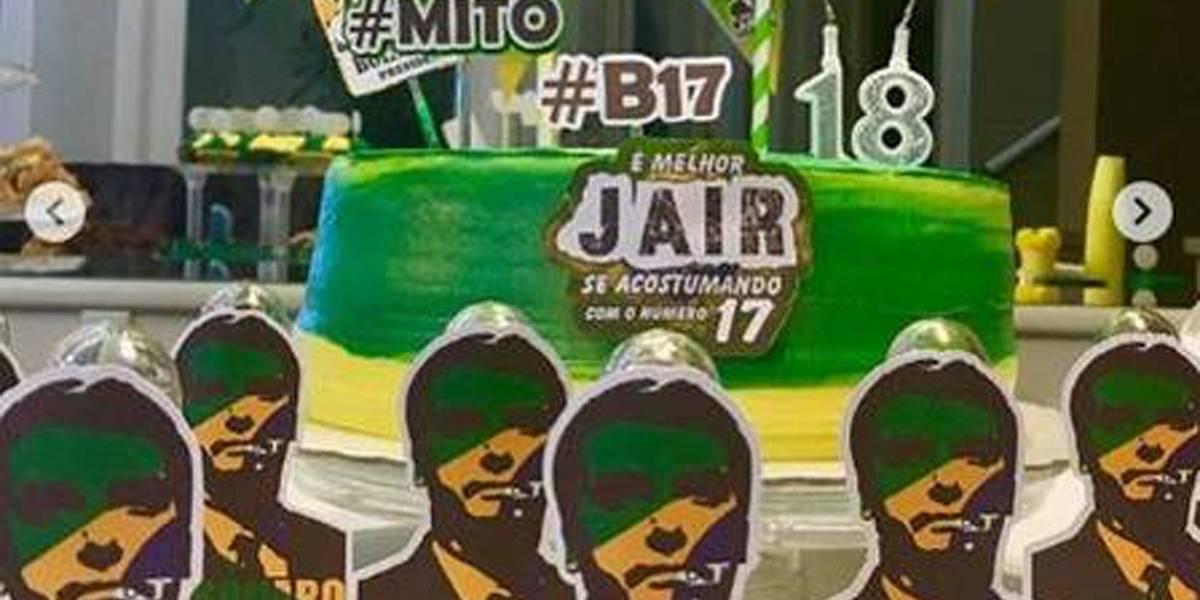 Sites vendem artigos de festa com tema Bolsonaro