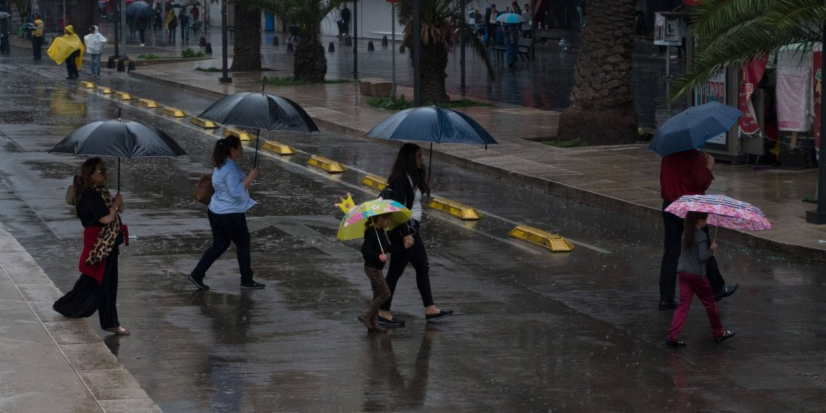 Activan Alerta Amarilla en 5 alcaldías por lluvias