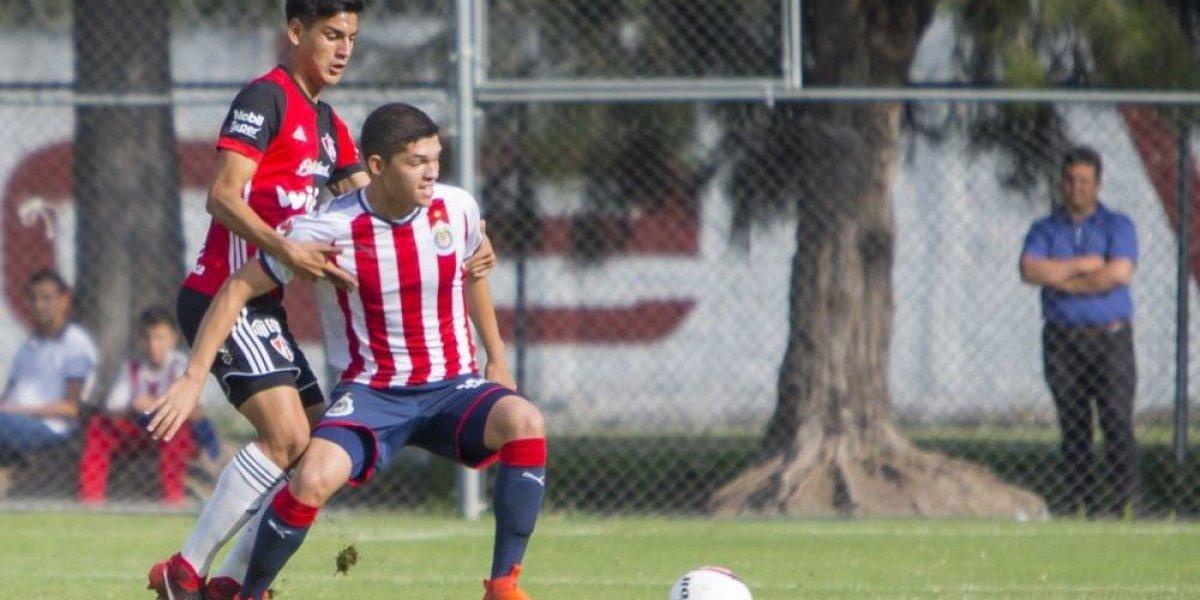 """La """"joya"""" de Chivas, convocada al Tricolor Sub-18"""
