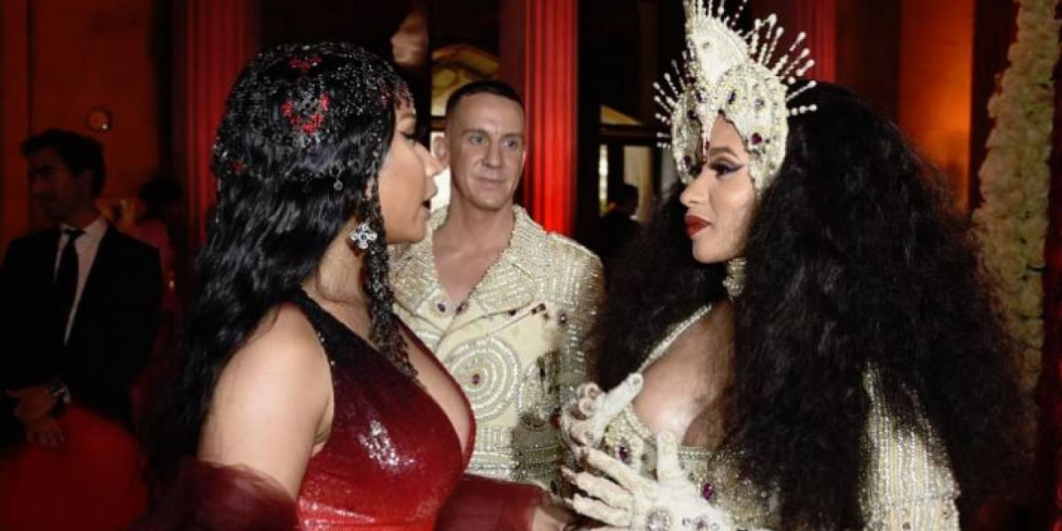 ¡Todo en calma! Nicki Minaj y Cardi B hicieron las paces tras meses de peleas