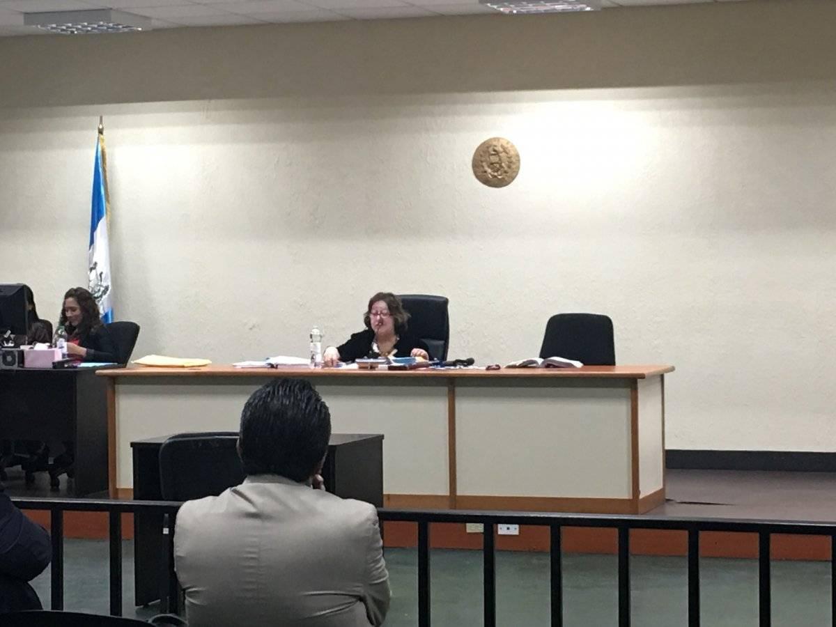 Audiencia por la muerte de Patricia Yuceli Morales. Foto: Jerson Ramos