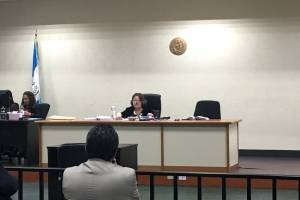 Audiencia por la muerte de Patricia Yuceli Morales.