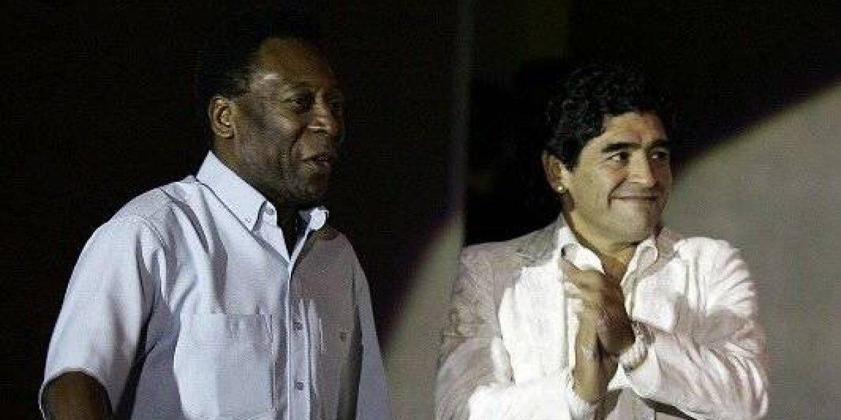 Un irónico Pelé y hasta Colo Colo lideraron los saludos a Maradona por su cumpleaños 58