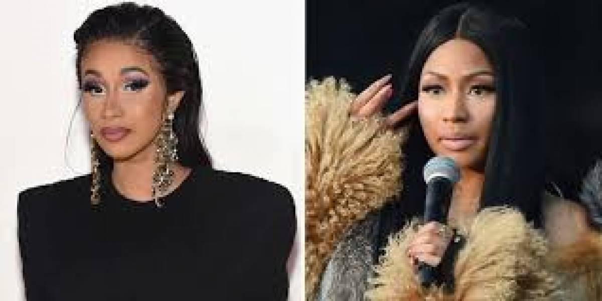 Raperas Cardi B y Nicki Minaj acuerdan una tregua