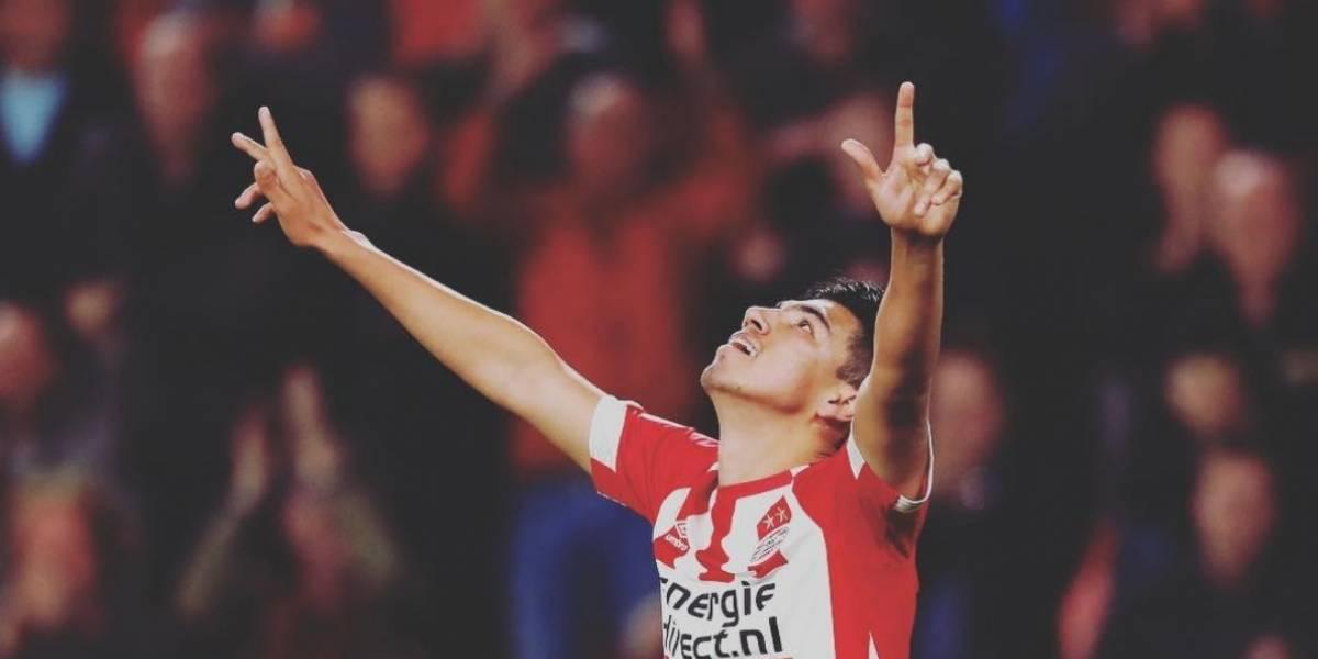 VIDEO: Erick Gutiérrez marca gol en Copa a los 25 segundos