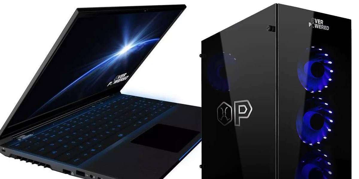 Overpowered: Walmart lanza su línea de PC y laptops para videojuegos