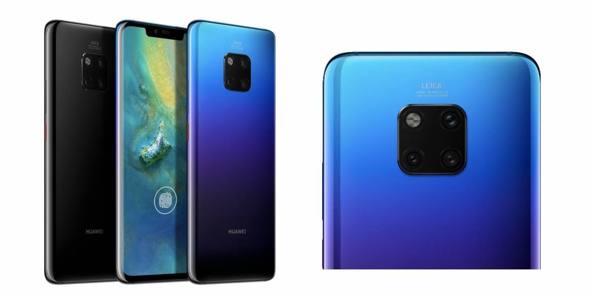 El Huawei Mate 20 y Mate 20 Pro ya están a la venta en Chile