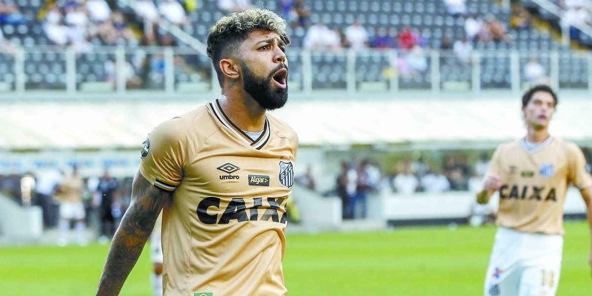 Santos: Gabriel pode se tornar o artilheiro da Copa do Brasil e do Brasileirão no mesmo ano