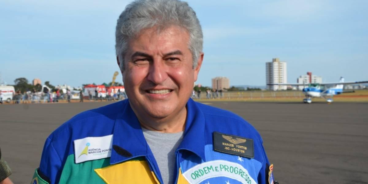 Marcos Pontes visita centro de lançamento espacial na Guiana Francesa