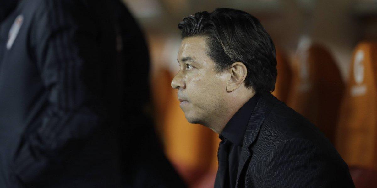 Marcelo Gallardo reconoció que incumplió el castigo de la Conmebol en la Libertadores y podría perderse la final