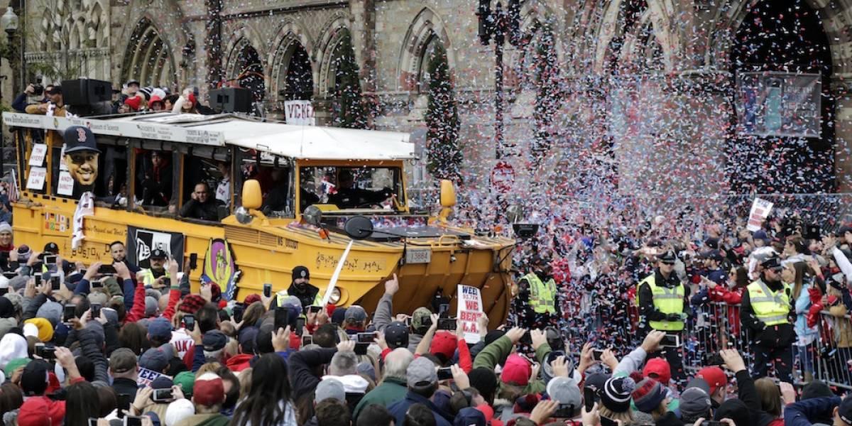 Boston se vuelca para vitorear a los Medias Rojas