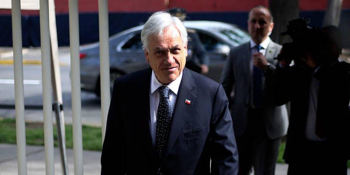 """""""Me rindo"""": Piñera se compromete a no hacer más chistes machistas tras episodio de la """"minifalda"""""""