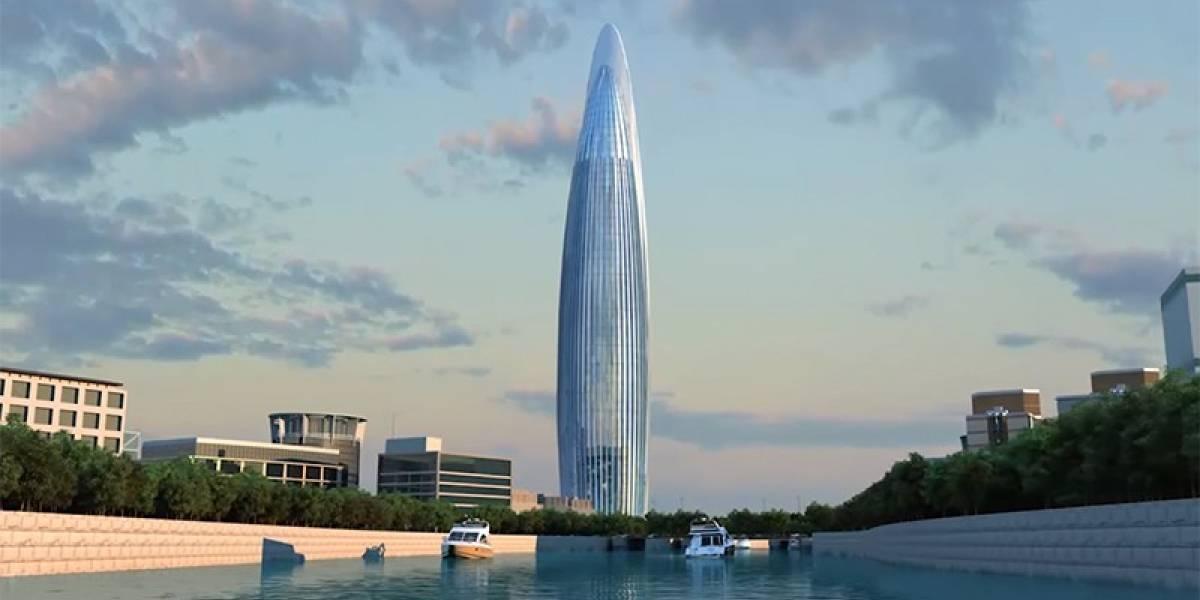 Esta será la torre más alta de África