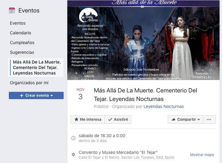 ¿Sin planes para el feriado? Se realizará recorrido teatralizado en espacios patrimoniales de Quito