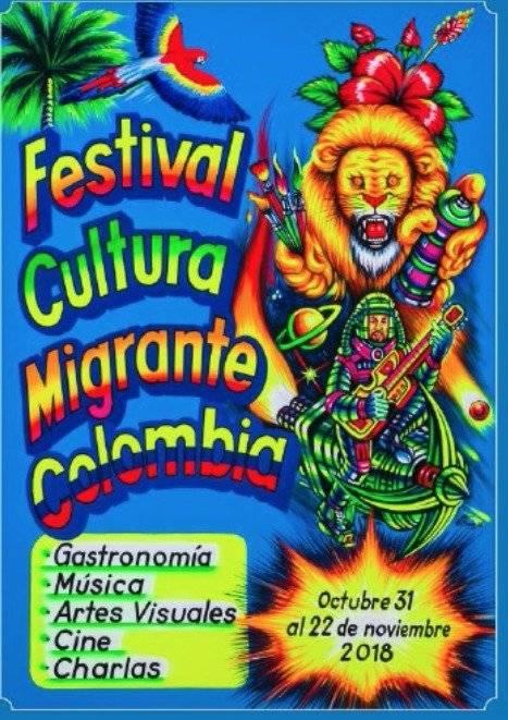 Afiche Festival Cultura Migrante