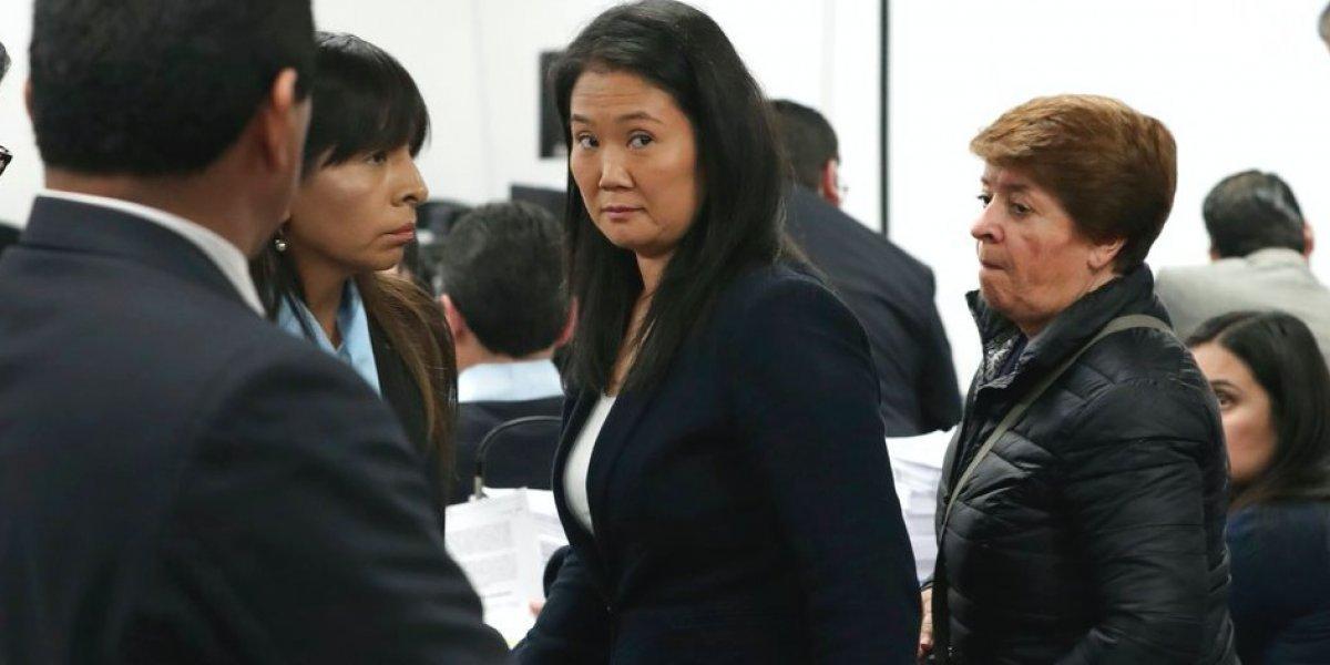 Delito de lavado de activos es la causa: tribunal ordena prisión por 36 meses para Keiko Fujimori