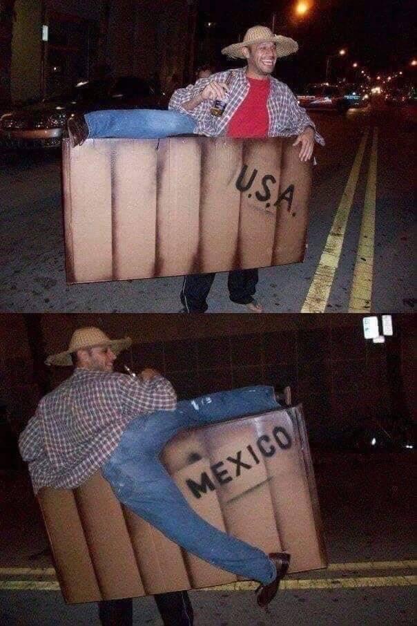 Los mexicanos siempre riéndonos de nosotros mismos