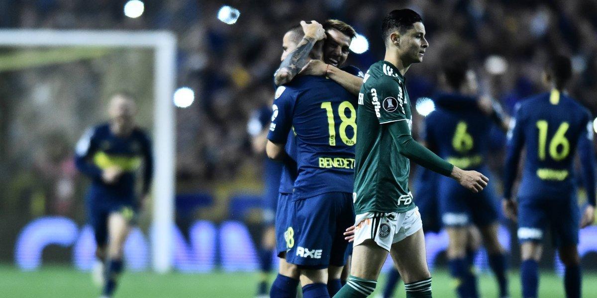 Esto es la Libertadores: Boca Juniors vuelve a sufrir con los fuegos artificiales en Brasil